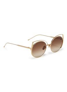 SUNDAY SOMEWHERE Daisy猫眼金属框太阳眼镜