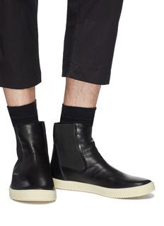 Rick Owens x BIRKENSTOCK  Mastodom小牛皮切尔西靴