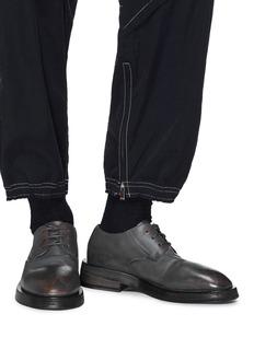 MARSÈLL 仿旧效果真皮德比鞋