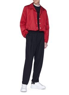 MCQ ALEXANDER MCQUEEN 迷你燕子植绒图案纯棉T恤