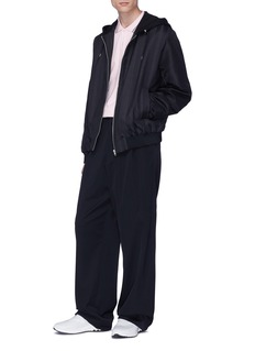 MCQ ALEXANDER MCQUEEN 燕子骷髅头徽章纯棉polo衫