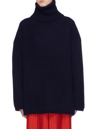 首图 - 点击放大 - Acne Studios - 高领羊毛罗纹针织衫