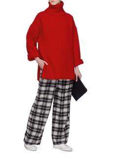 ACNE STUDIOS 高领羊毛罗纹针织衫