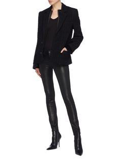 HAIDER ACKERMANN 双层衣襟粗花呢西服夹克