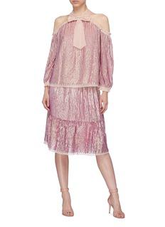 NEEDLE & THREAD Kaleidoscope亮片点缀半身裙