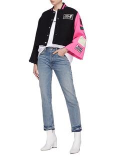 OPENING CEREMONY 落肩设计品牌名称刺绣卫衣