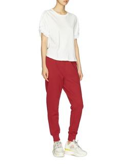 PROENZA SCHOULER 品牌名称刺绣松紧裤腰休闲裤