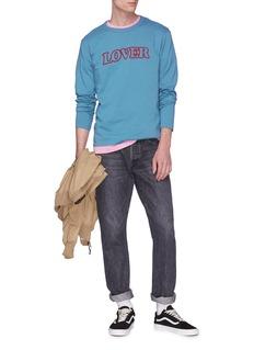 Bianca Chandôn LOVER英文字印花长袖T恤