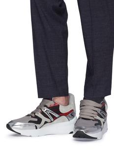 Alexander McQueen 拼接设计oversize厚底运动鞋
