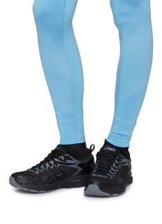 Kiko Kostadinov x ASICS Gel-Delva 1拼接设计条纹运动鞋