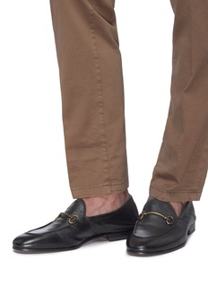 HENDERSON Horsebit leather loafers