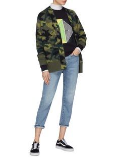 PROENZA SCHOULER PSWL拼色品牌名称纯棉卫衣