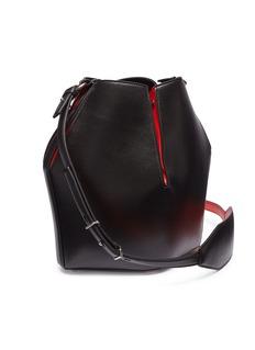 Alexander McQueen 拼色小牛皮水桶包