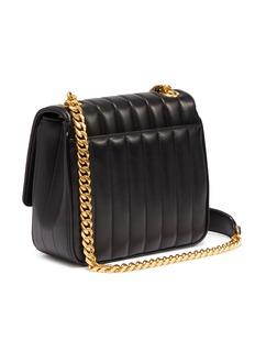 SAINT LAURENT Vicky中号品牌标志绗缝小羊皮斜挎包