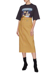 BALENCIAGA SPEEDHUNTERS乐队印花纯棉T恤