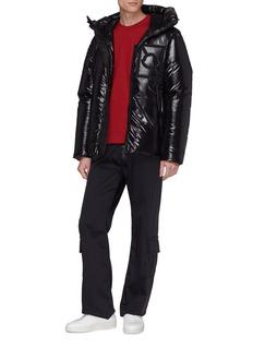 Moncler Genius x Craig Green尼龙品牌标志混棉卫衣