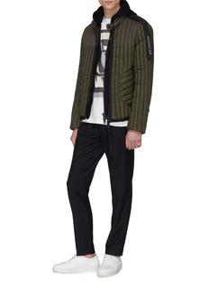 Moncler Genius x Craig Green尼龙品牌标志羽绒拼接连帽外套