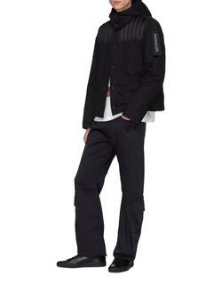 Moncler Genius x Craig Green Pike绗缝羽绒拼接连帽衬衫式夹克