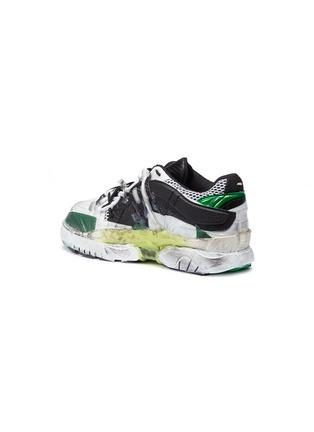 细节 - 点击放大 - MAISON MARGIELA - Fusion拼接设计真皮运动鞋