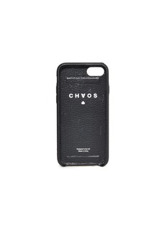 CHAOS 松紧带鹿皮手机壳(黑色)-iPhone 7/8