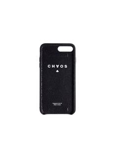 CHAOS 松紧带鹿皮手机壳(黑色)-iPhone 7 Plus/8 Plus