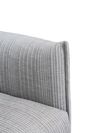 细节 –点击放大 - MOROSO - Gentry两人座布艺沙发-浅灰色
