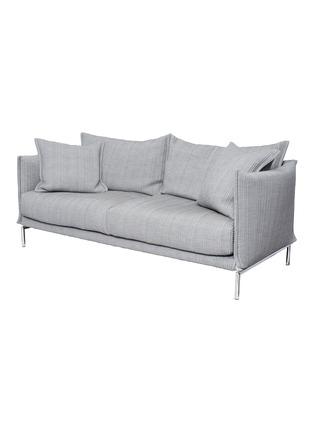 - MOROSO - Gentry两人座布艺沙发-浅灰色