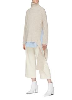 Mijeong Park 混羊毛罗纹高领针织衫