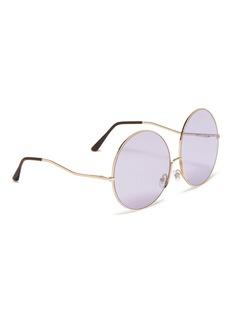 SPEKTRE Shanghai金属圆框太阳眼镜