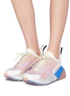 STELLA MCCARTNEY Eclypse拼接设计厚底运动鞋