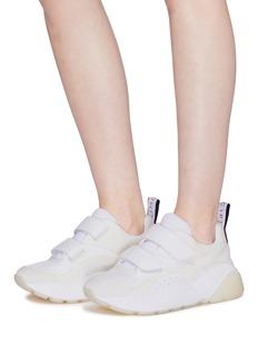 STELLA MCCARTNEY Eclypse双重魔术贴搭带厚底运动鞋