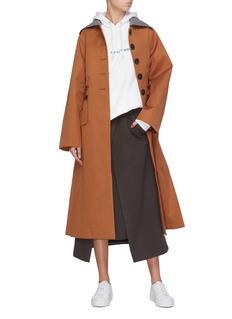 FFIXXED STUDIOS 倒褶设计羊毛半裙