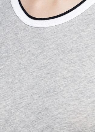细节 - 点击放大 - RAG & BONE/JEAN - 拼色纯棉T恤