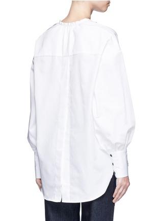背面 - 点击放大 - TOME - 交叉系带装饰纯棉上衣
