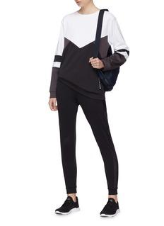 Calvin Klein Performance 几何拼色oversize功能卫衣