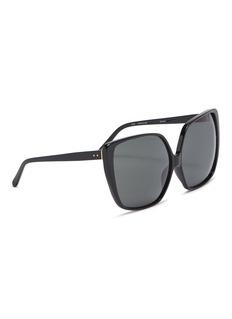 LINDA FARROW VINTAGE 板材方框太阳眼镜