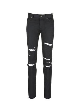 首图 - 点击放大 - SAINT LAURENT - 低腰修身磨破牛仔裤