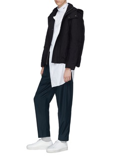 FFIXXED STUDIOS 抽绳斜纹布长裤