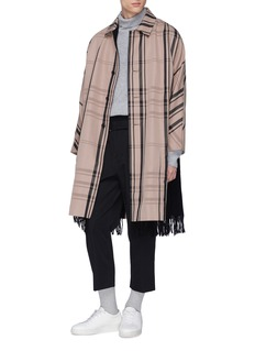 FFIXXED STUDIOS 腰带羊毛斜纹布露踝裤
