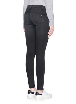 背面 - 点击放大 - RAG & BONE/JEAN - 拉链装饰水洗牛仔裤