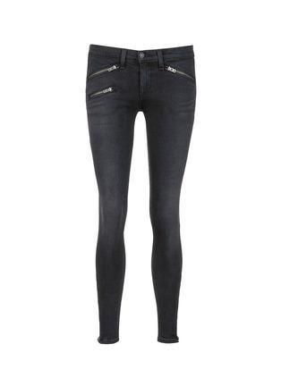 首图 - 点击放大 - RAG & BONE/JEAN - 拉链装饰水洗牛仔裤