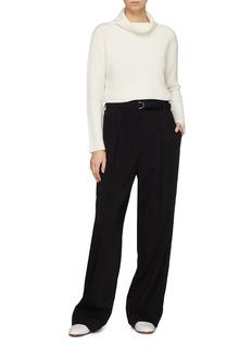 CRUSH Collection 羊绒高领短款针织衫