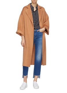 CRUSH Collection 浴袍式混羊绒大衣