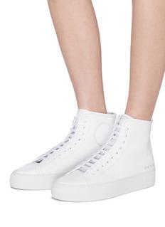 COMMON PROJECTS Tournament真皮高筒厚底运动鞋