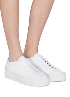 COMMON PROJECTS Tournament真皮厚底运动鞋