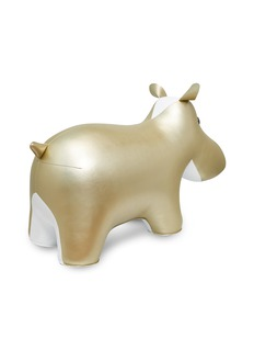 Zuny 巨型河马摆设-金色及白色