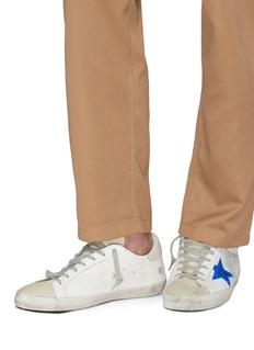 GOLDEN GOOSE Superstar手绘设计小牛皮运动鞋