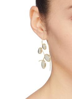 J.HARDYMENT  Curlicue镀14k金及镀铑纯银耳环