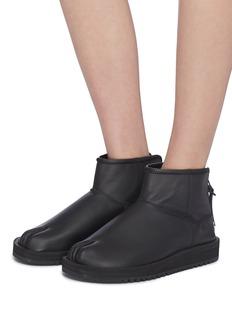 SUICOKE TOBY-LAB-L0牛皮分趾靴
