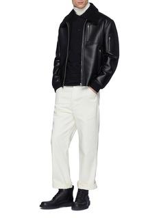 JIL SANDER 棉质长袖polo衫